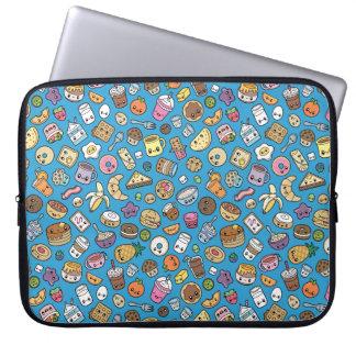 Niedliche Frühstücks-Nahrungsmittellaptophülse Laptop Sleeve