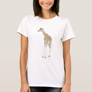 Niedliche Giraffe T-Shirt