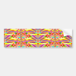 NIEDLICHE glückliche Wellen-grafische Autoaufkleber