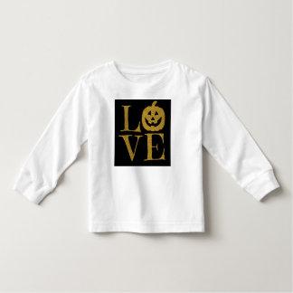 Niedliche Halloween-LIEBE, Kleinkind T-shirt