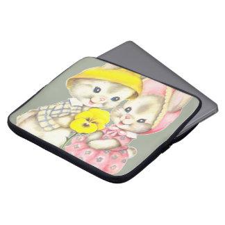 Niedliche Häschen Laptopschutzhülle