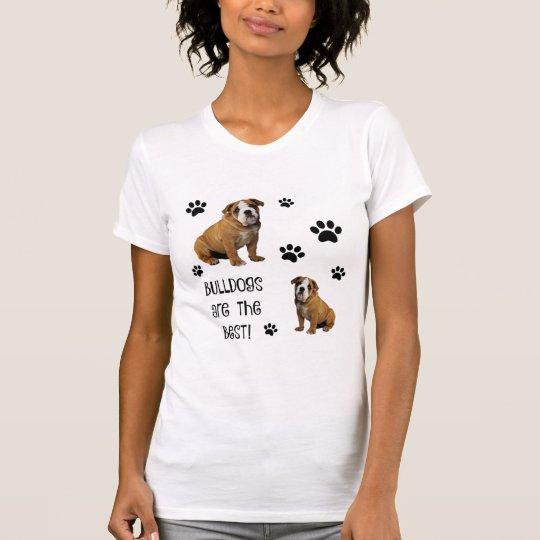 Niedliche Haustiere! Bulldoggen sind das Beste! T-Shirt