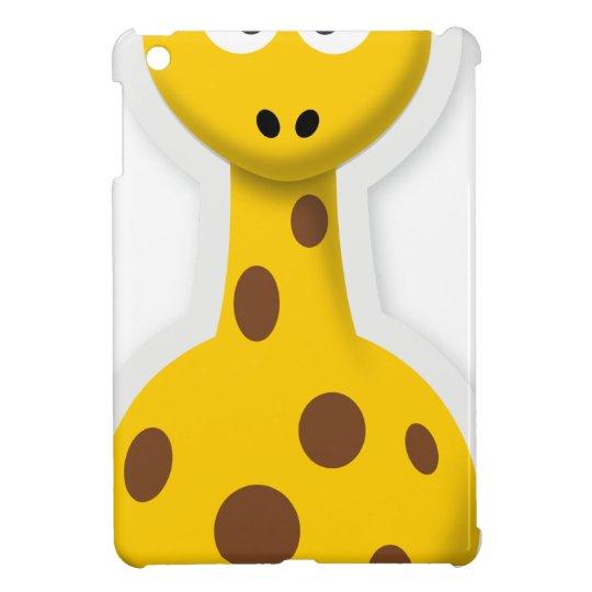 Niedliche hohe Giraffenzootiere Hülle Für iPad Mini