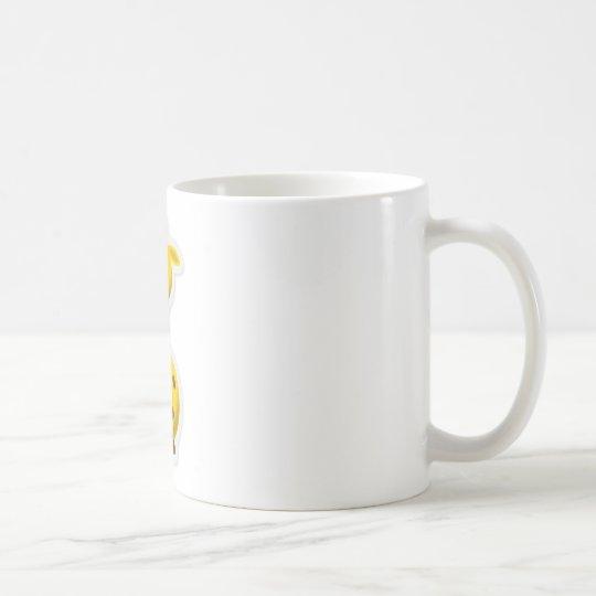Niedliche hohe Giraffenzootiere Kaffeetasse