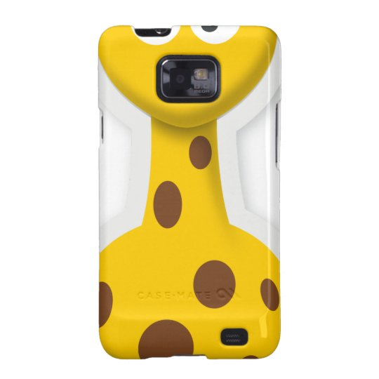 Niedliche hohe Giraffenzootiere Samsung Galaxy SII Cover