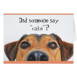 Niedliche Hundealles- Gute zum Mitteilungskarte