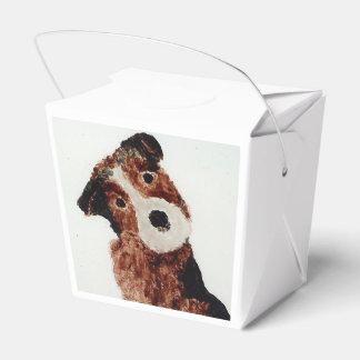 Niedliche Hundekunst Geschenkschachtel
