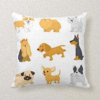 Niedliche Hundezucht Kissen