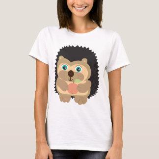 Niedliche Igels-Illustration T-Shirt