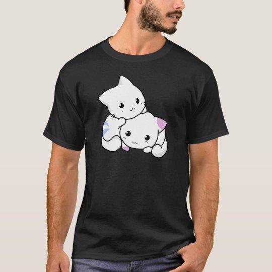 Niedliche Katzenfreunde T-Shirt