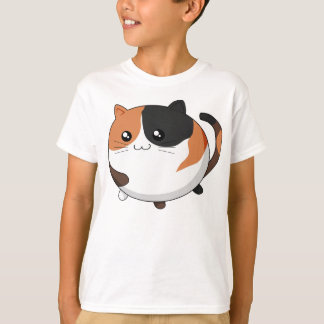 Niedliche Kawaii Kaliko Kittykatze T-Shirt