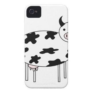 Niedliche Kuh iPhone 4 Cover