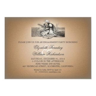 niedliche lustige Entwurfs-Verlobungs-Party 12,7 X 17,8 Cm Einladungskarte