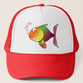 Niedliche lustige Fische - bunt Truckerkappe