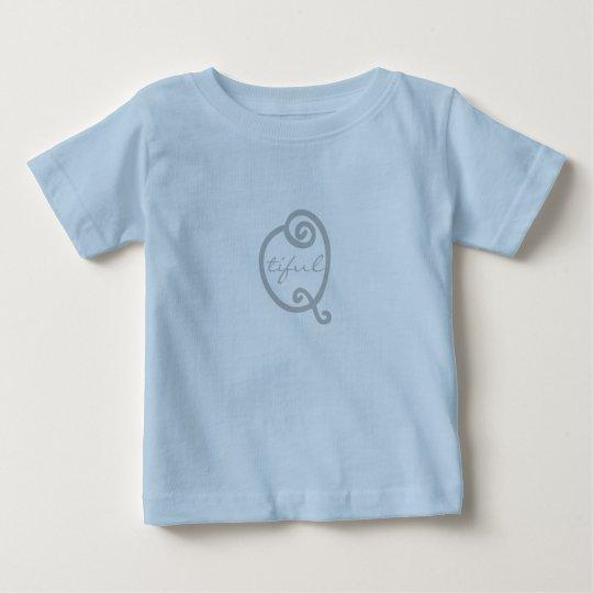 "Niedliche lustige ""Qtiful"" Baby T-shirt"