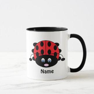 Niedliche Marienkäfer-Tasse Tasse
