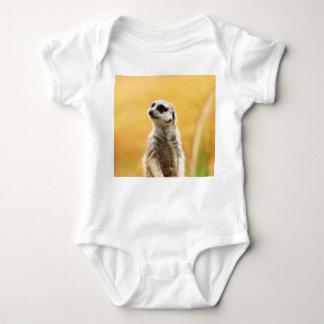 Niedliche Meerkat Baby-Raupe Baby Strampler