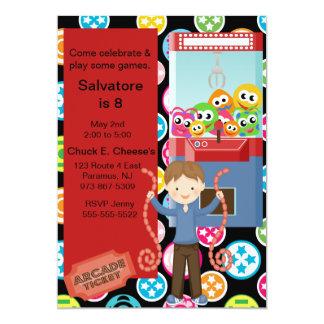Niedliche, multi Farbe, 12,7 X 17,8 Cm Einladungskarte