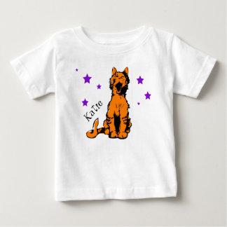 niedliche orange Tabbykatze Baby T-shirt