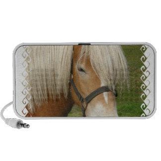 Niedliche Palomino-Ponyportable-Lautsprecher