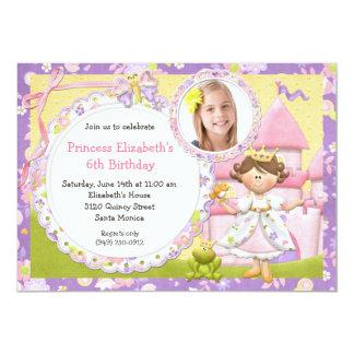 Niedliche Party Einladung Prinzessin-Birthday