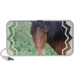 Niedliche Paso Fino Pferdeportable-Lautsprecher