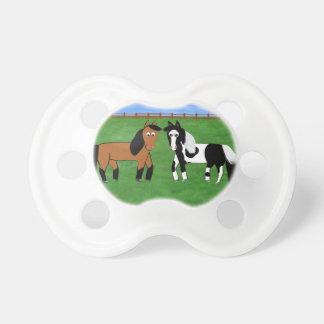 Niedliche Pferde Schnuller