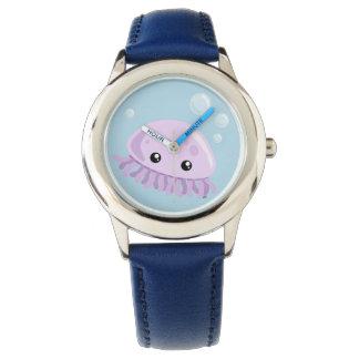 Niedliche Quallen-Uhr Uhr