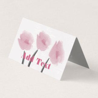Niedliche rosa karte