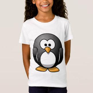 Niedliche runde Penguin-Entwürfe T-Shirt
