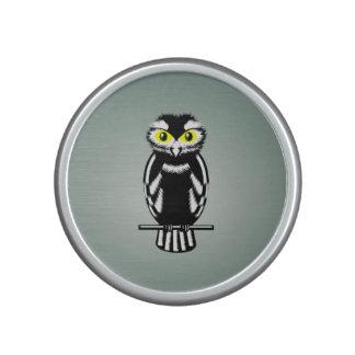 Niedliche Schwarzweiss-Eule Bluetooth Lautsprecher