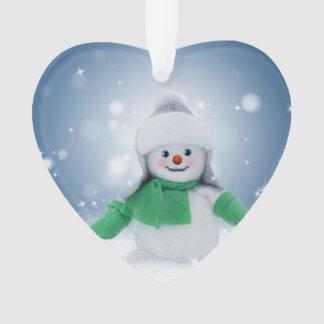 Niedliche Snowman-Verzierung für Weihnachten Ornament