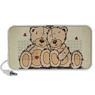 Niedliche Teddy-Bären Laptop Speaker