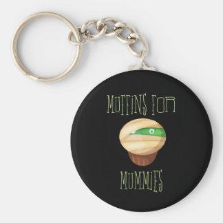 Niedliche u. gespenstische Muffins für Mamas Schlüsselanhänger