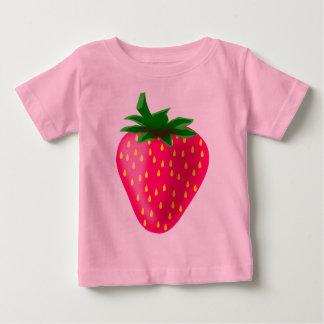 Niedliche und süße Erdbeere Baby T-shirt