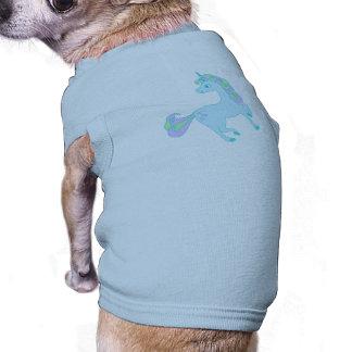 niedliche Unicorn Haustier-Kleidung T-Shirt