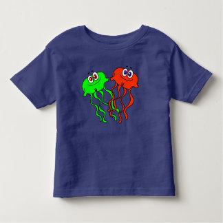 Niedliche vektorCartoon-Quallen Kleinkind T-shirt