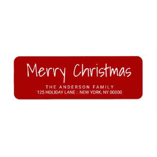 Niedliche Weihnachtshandgedruckte