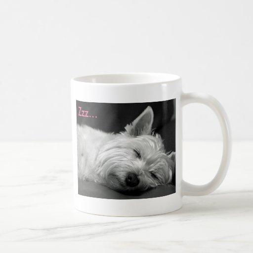 Niedliche Westie (Westhochland-Terrier) HundeTasse Kaffeehaferl