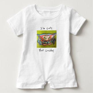 Niedlicher aber Crabby Baby-Spielanzug Baby Strampler
