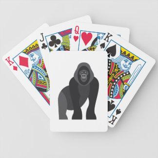 Niedlicher Affe Bicycle Spielkarten