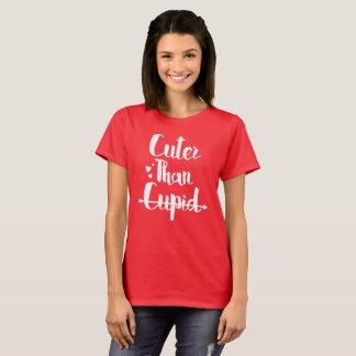 Niedlicher als Amor - Valentinstag T-Shirt