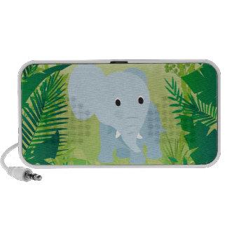 Niedlicher Baby-Elefant iPhone Lautsprecher