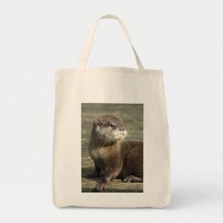 Niedlicher Baby-Otter Tragetasche