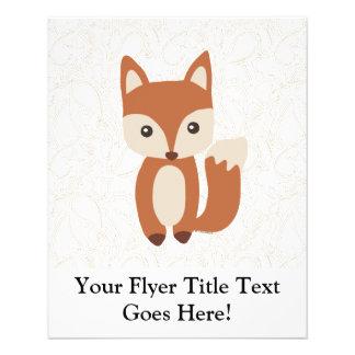 Niedlicher BabyFox Individuelle Flyer