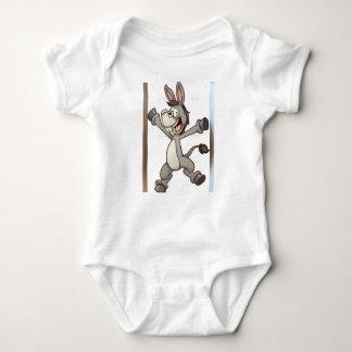 niedlicher Babykleidungs-Eselentwurf Baby Strampler