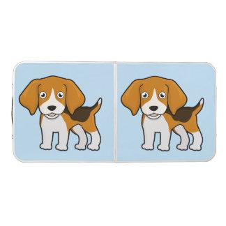Niedlicher Beagle Beer Pong Tisch