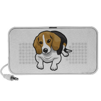 Niedlicher Beagle PC Lautsprecher