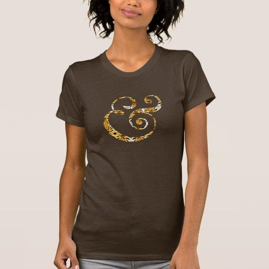niedlicher bengalischer Tigerstreifen-T - T-Shirt