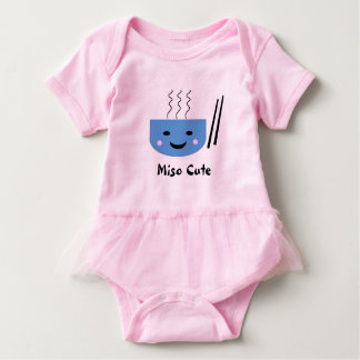 Niedlicher Bodysuit des Misos mit Tutu Baby Strampler